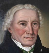 Peder Cappelen overtok hovedgården i 1795. Maleriet henger i dag på Eidsfos Hovedgård.