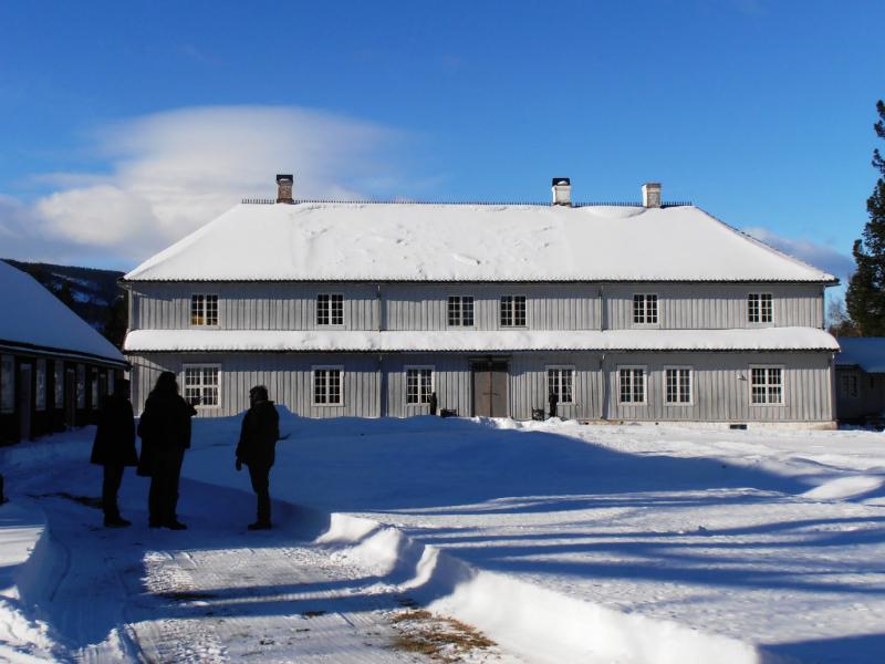 Vinter på Hovedgården
