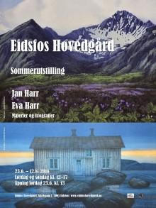 Plakat sommerutstilling 2018